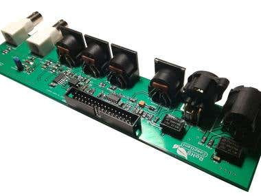 Audio/Midi Expansion PCBA