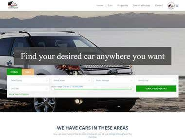 Rental Car (wordpress)