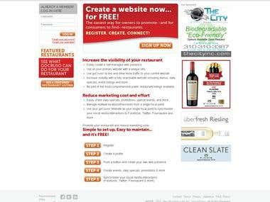 Huge web based Social Networking tool for Restaurant lovers