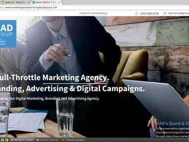 Marketing and Advertising design group