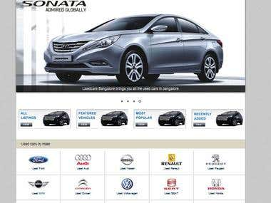 Website for Auto dealers