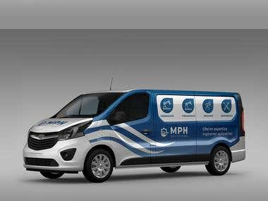 MPH Solution - Vehicle Branding