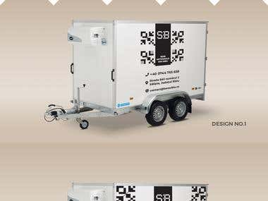 SB Beer - Trailer Branding