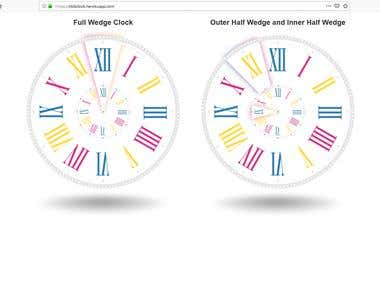 SVG Clock