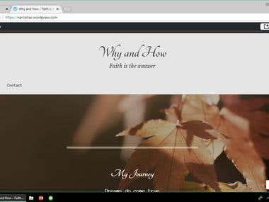 My WordPress Page