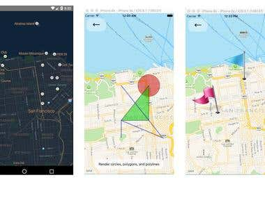 Map View in React Native