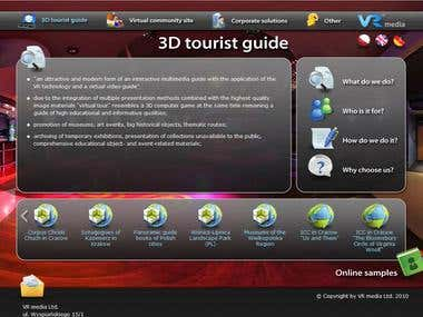 VR media Ltd. offer website