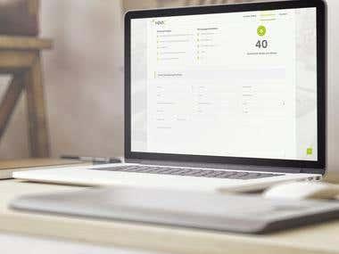 Erstellung einer Webseite mit Bewerberbungsformularen