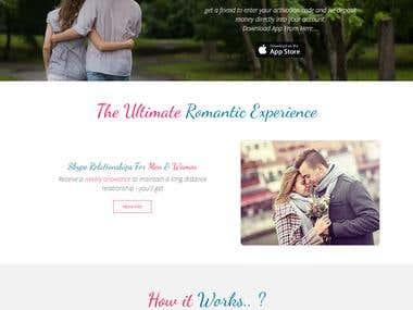 Wigu Date Deals (Bootstrap, HTML5, CSS3)