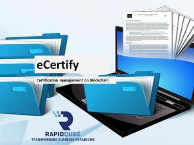 eCertify