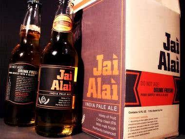 Jai Alai Packaging Design