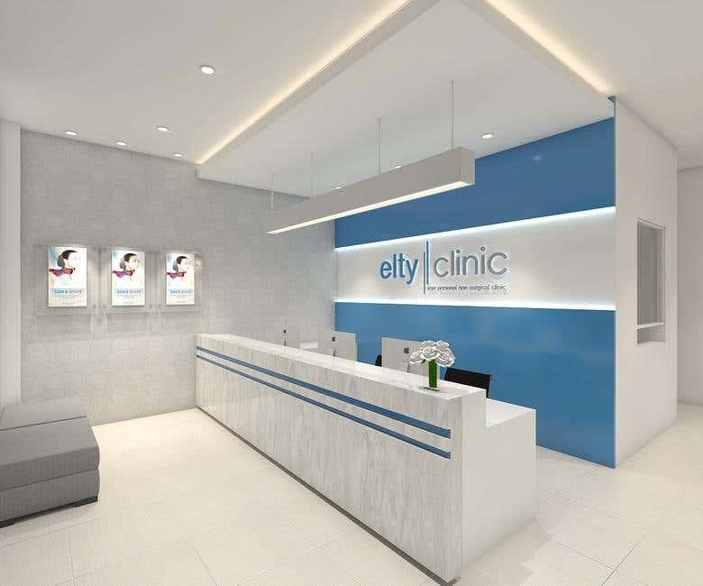 Beauty Clinic Facade Design Freelancer
