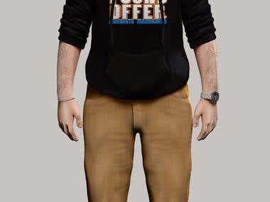 Semi-Realistic character