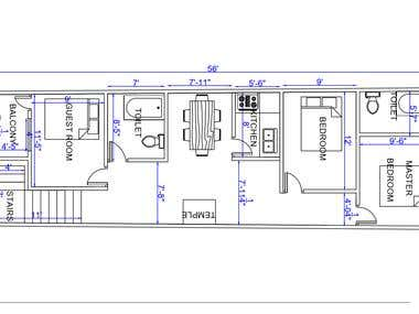 HOUSE GROUND FLOOR PLAN