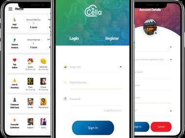 Cella Ecommerce App