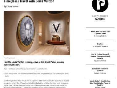 Time(less) Travel with Louis Vuitton