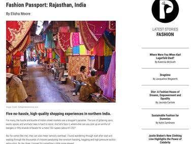 Fashion Passport: Rajasthan, India