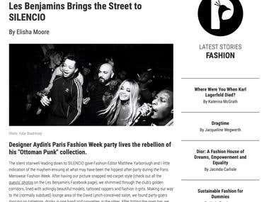 Les Benjamins Brings the Street to SILENCIO