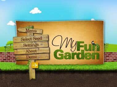iOS App Garden  Game