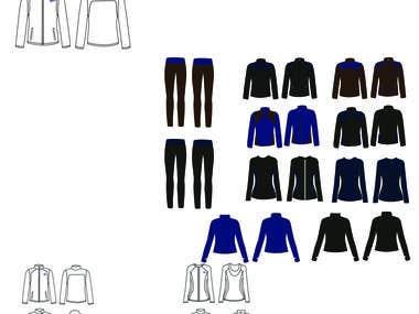 women sportswear collection