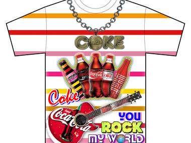 Coca T-shirt