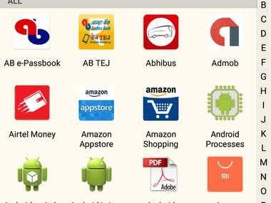 My Apps List (Smart & Mini Apps Launcher)