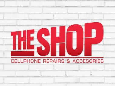 Logo design - The Shop