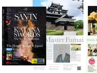 San'in region tourism magazine Japanese English translation