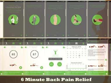 6 Minute Back Pain Relief
