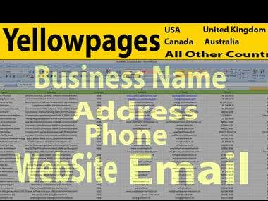 Yellowpages Contact list