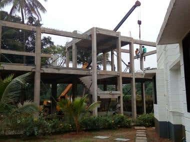 Precast Residential House Design, Execution, PMC work