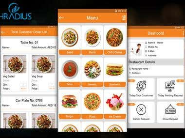 Food Restaurant POS- Android Tablet App design & develop