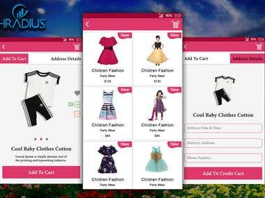 E-Commerce Fashion Products Apps