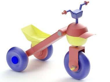 Toy Bike.