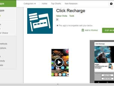 My Apps on Play Store - Click Recharge