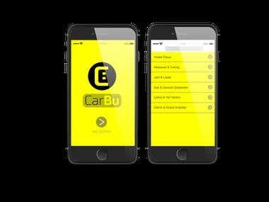 CarBu App Design