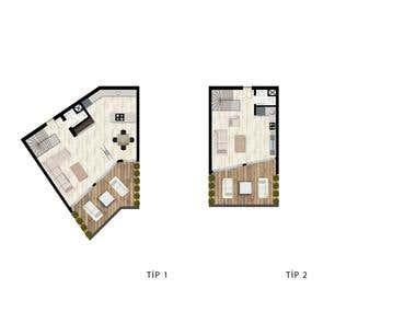 Architectural Plan Visualization