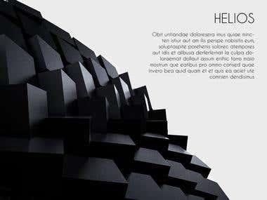 Cufflinks series I Helios