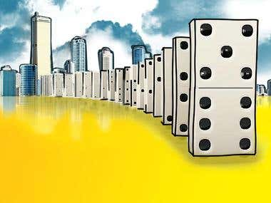Illustration of real estate article