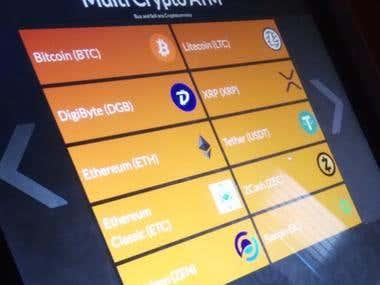 Multicrypto ATM