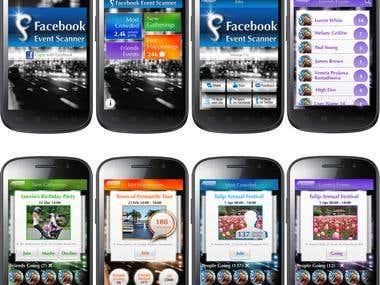 Facebook Event Scanner
