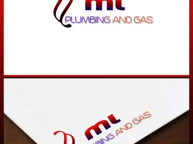 "Logo for ""ML PLUMING AND GAS"""