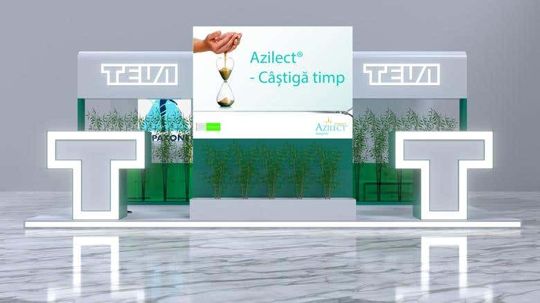 Exhibition Stand Proposal : Trade show booth rental and exhibition stands for aua at