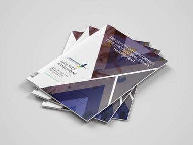 JPS 4 Page Brochure Template Design