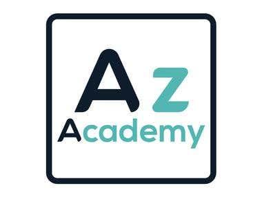 Logo design for AZ ACADEMY