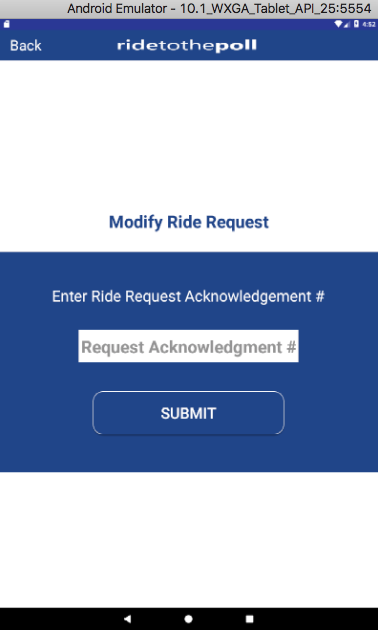 Ride To The Poll - Android App