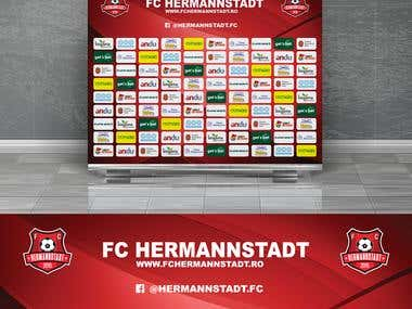 FC Hermannstadt - Sponsor Background