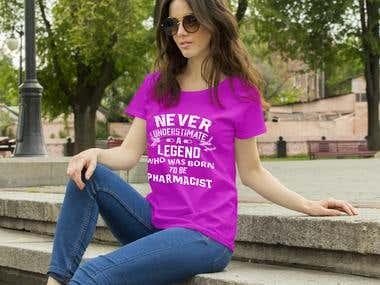 Pharmacy Tshirt design