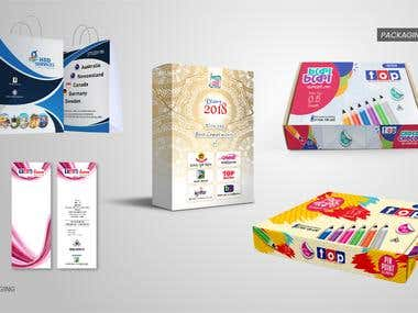 Stationery & Packaging Design