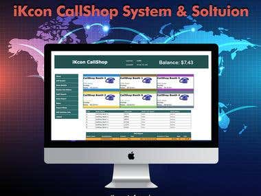 Call Shop Solution